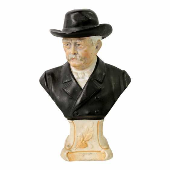 1870/71 German-French War - Rare Bismarck Porcelain Bust, - photo 1