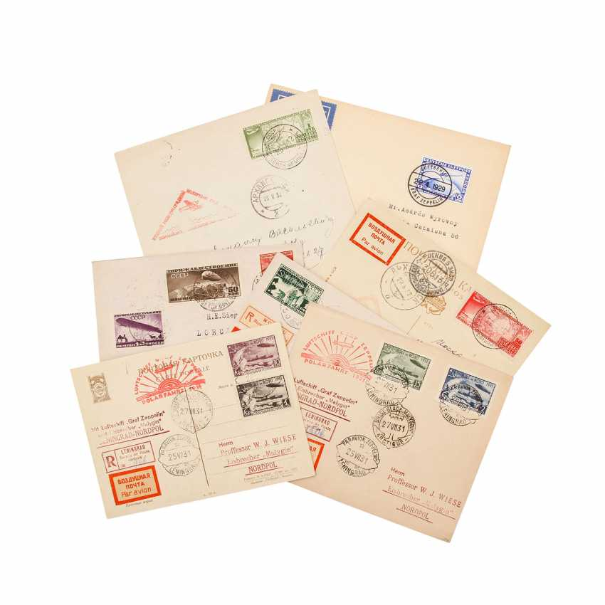 Zeppelin Air Mail – 7 Documents  - photo 1