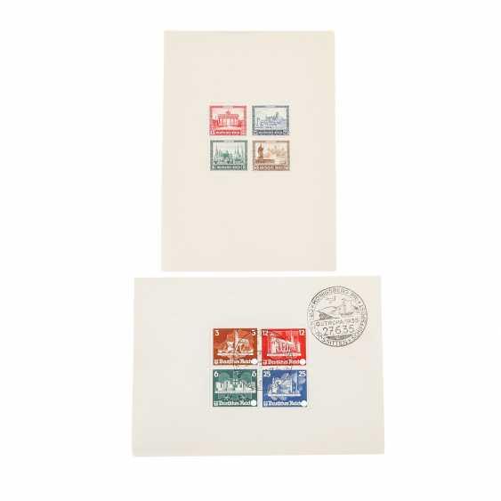 German Empire – 1930+35 , B. 1 post office fresh, - photo 1