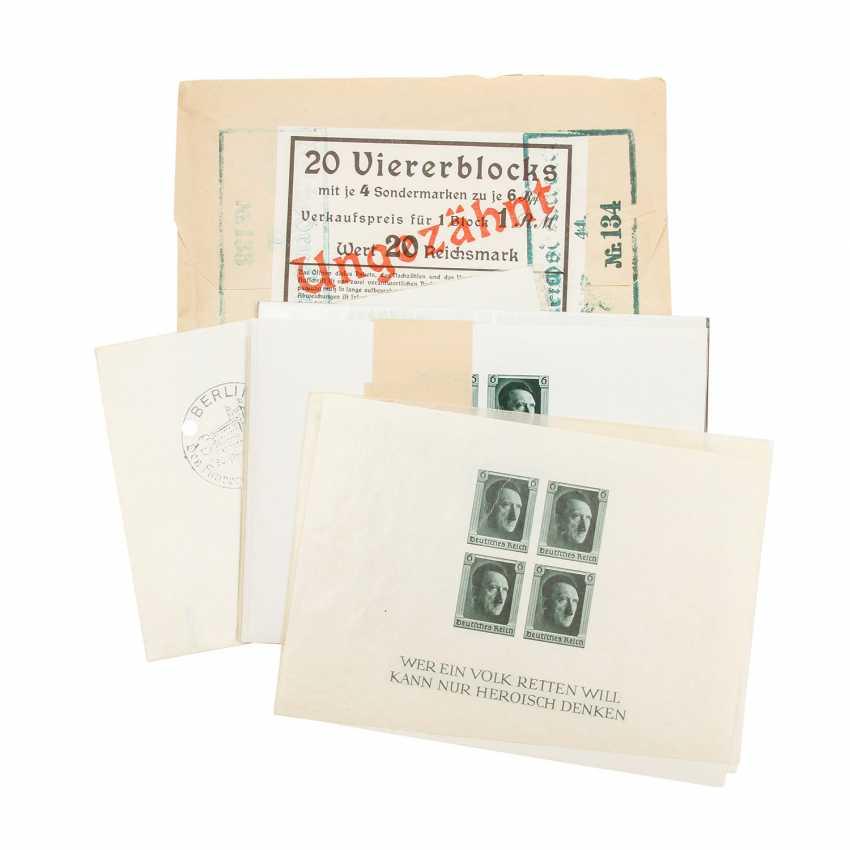 German Empire – 1937, Block 8, - photo 1