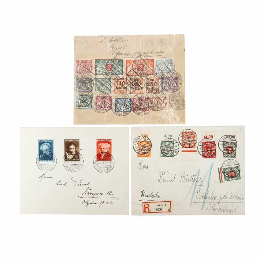 Danzig – 3 sets of letters gdańsk, real gone, - photo 1