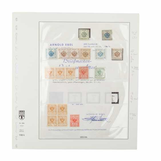 Austria - 1853/90; Slg. Newspaper stamps,  - photo 1