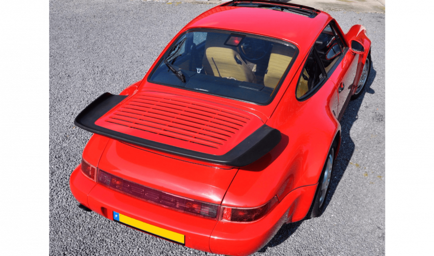 PORSCHE 964 TURBO 3.3 #1991 - photo 3