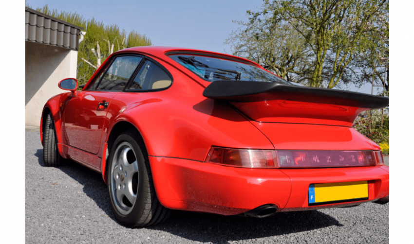 PORSCHE 964 TURBO 3.3 #1991 - photo 2