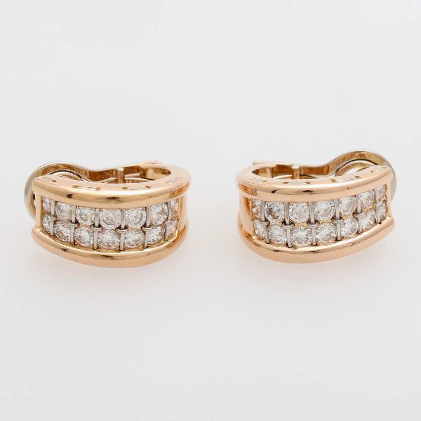 13e669a67 Lot 61 Cartier Clic Semi Hoop Earrings Clip Plug From The