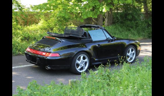 PORSCHE 993 CABRIOLET «ROADSTER» TIPTRONIC S #1996