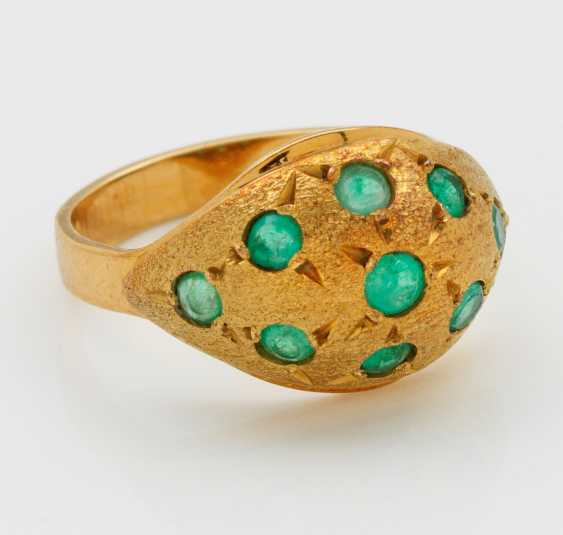 Emerald ring from the 50s - photo 1