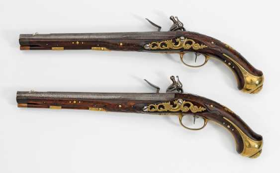 High quality Pair of flintlock pistols of Museum quality - photo 2