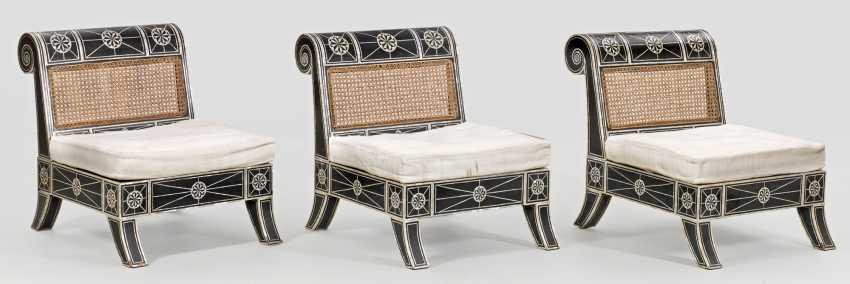 Three large armchairs - photo 1