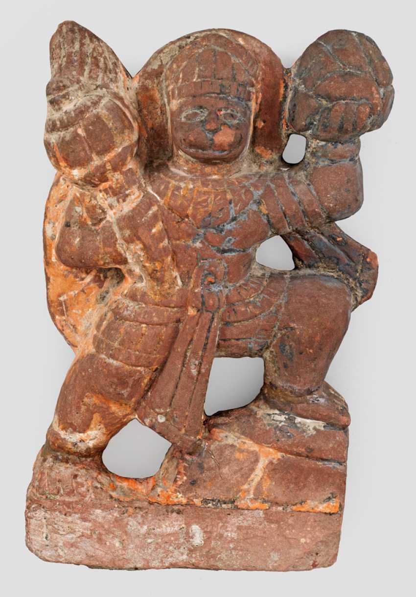 Relief des Gottes Hanuman - photo 1