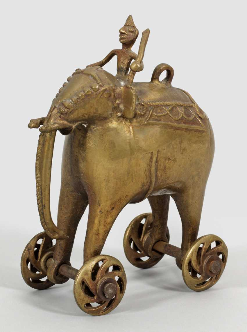 Indian Toy Elephant - photo 1