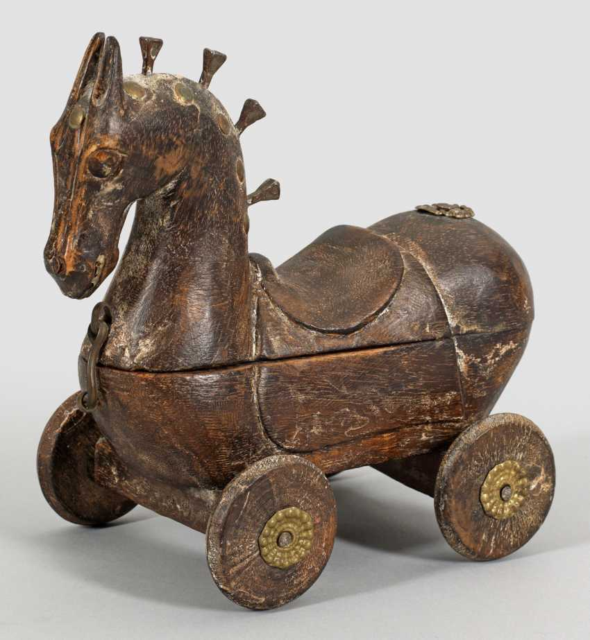Indian Toy Horse - photo 1