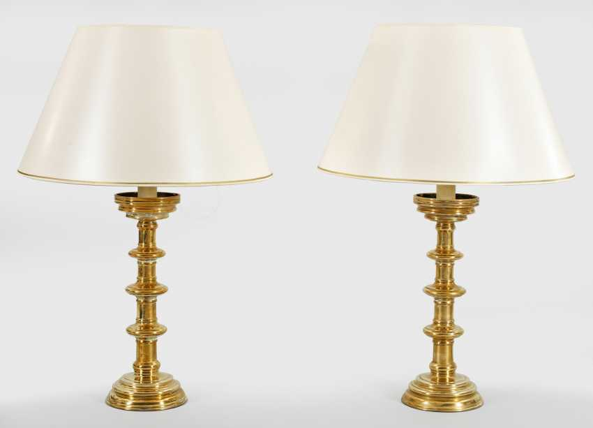 Pair Of Disc Chandelier - photo 1