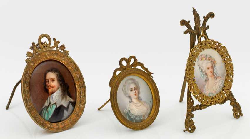 Three Portrait Miniatures - photo 1
