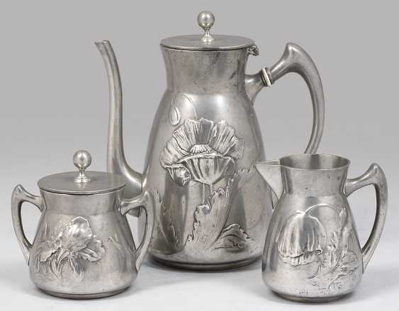 Art Nouveau Coffee Service - photo 1