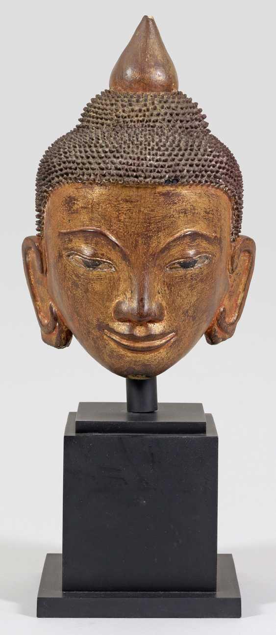 Buddha head from the Shan period - photo 1