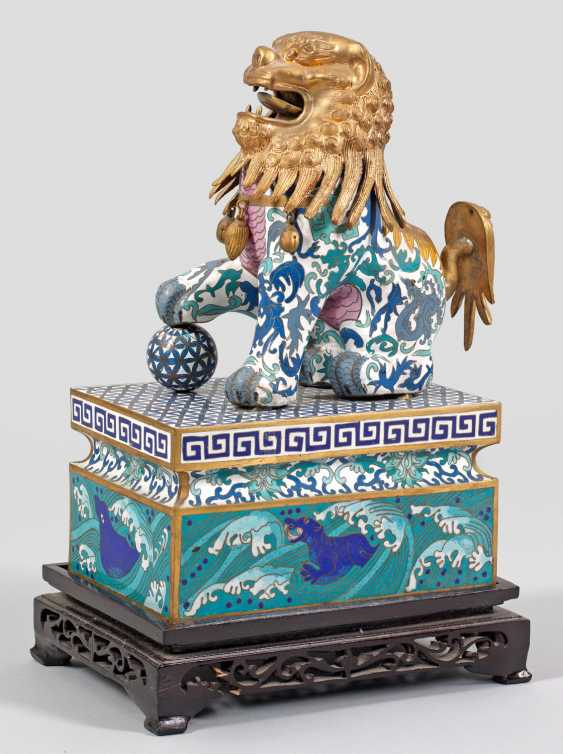 Cloisonné Temple Guardian - photo 1