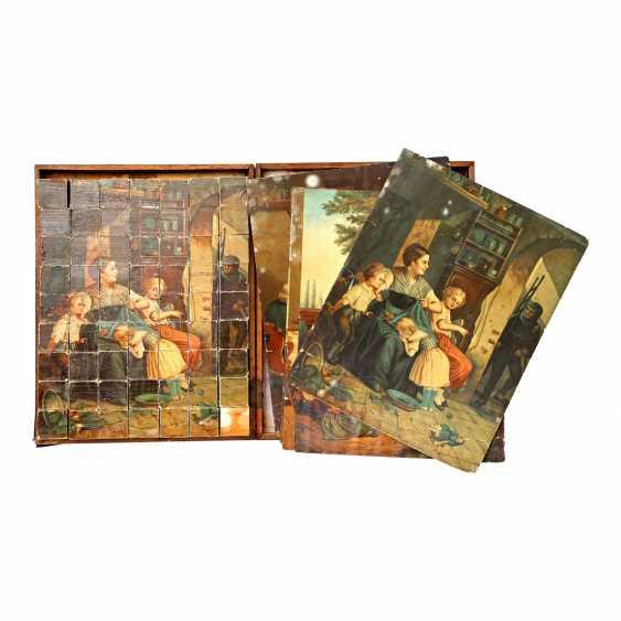 Cube puzzle, 1920s, - photo 1