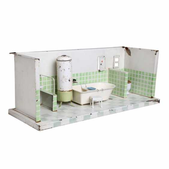 KIBRI doll bathroom, 1950s, - photo 1
