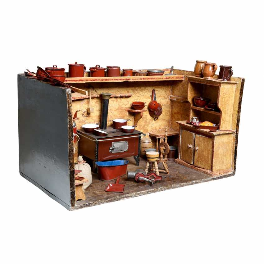Doll's kitchen, around 1910/20, - photo 1