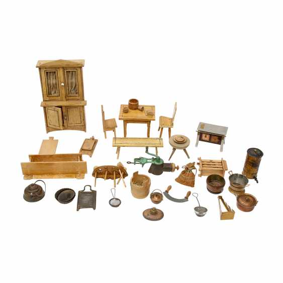 Accessories for the doll's kitchen, 1. Half of the 20. Century, - photo 1