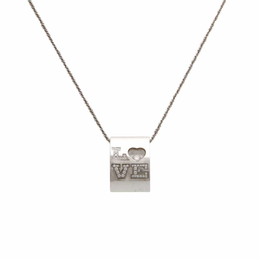"""CHOPARD pendant with lettering """"LOVE"""" - photo 1"""