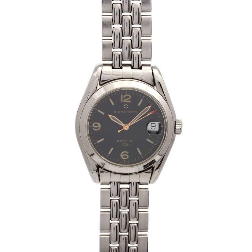 ETERNA Kontiki 1958 watch, Ref. 1571.41. Stainless steel. - photo 1