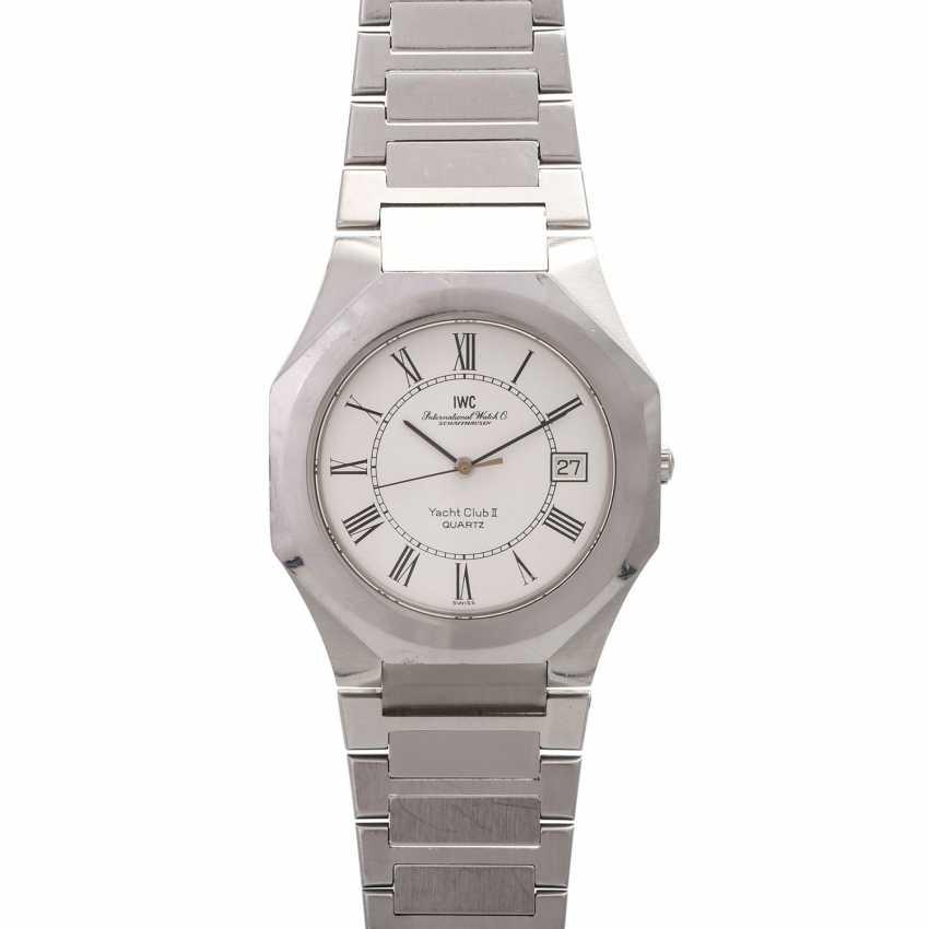 IWC Yacht Club II men's watch, Ref. 3312, CA. 1980/90s. Stainless steel. - photo 1