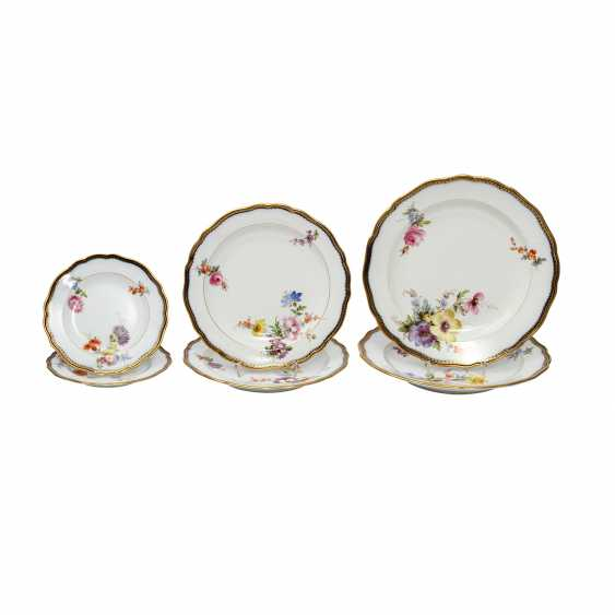 MEISSEN dining services, parts, 1860-1924. - photo 1