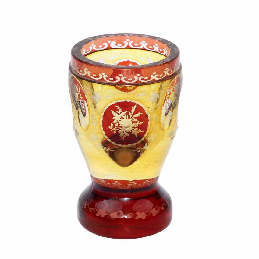 GOBLET WITH ALLEGORIES - photo 1