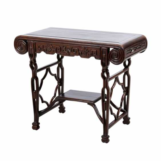 The altar table. CHINA. the late Qing dynasty. - photo 1