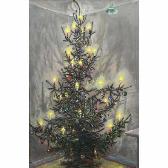 "NÄGELE, REINHOLD (Murrhardt in 1884 - 1972 Stuttgart, Prof.), ""Christmas tree"", - photo 1"