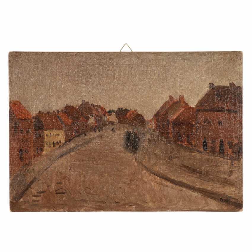 "FAURE, AMANDUS (Hamburg 1874-1931 Stuttgart), ""Thourout Flandern"", - photo 1"