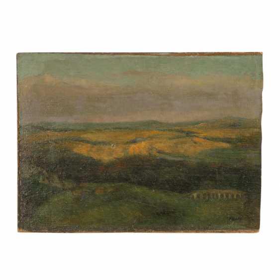 """FAURE, AMANDUS (Hamburg 1874-1931 Stuttgart), """"hills"""", - photo 1"""