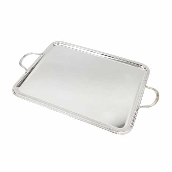 CHRISTOFLE large serving plate, 20. Century - photo 1