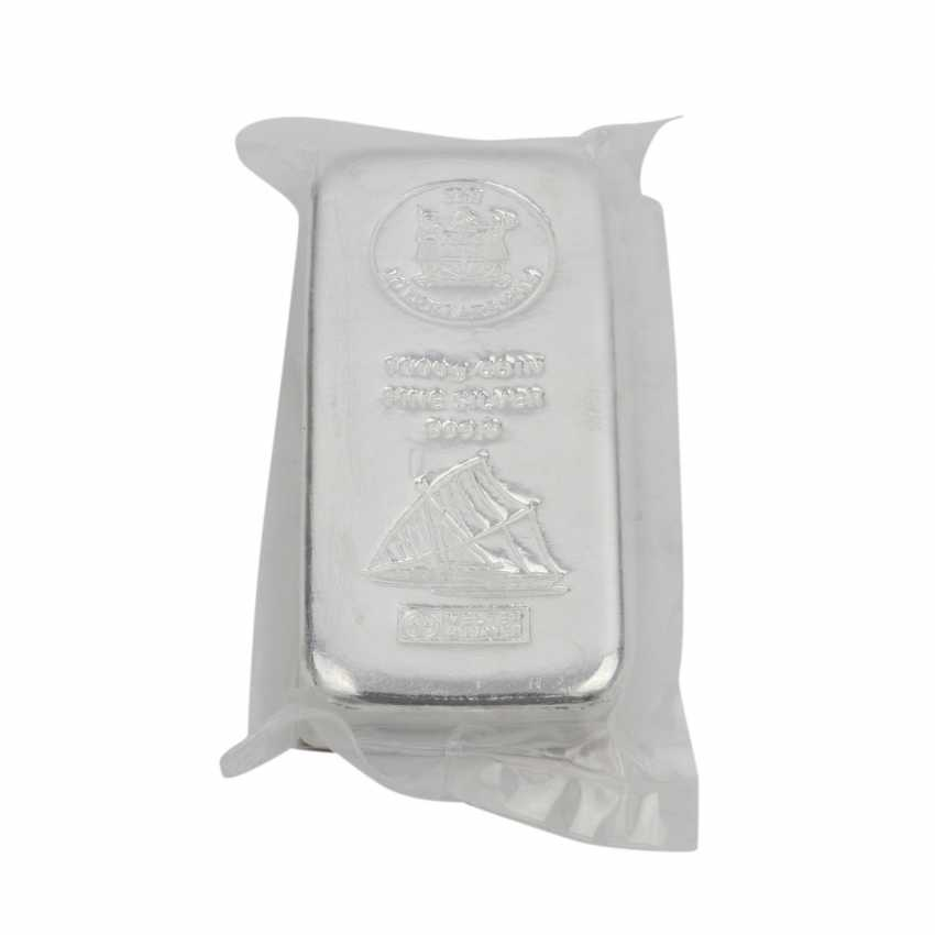 FIJI-coin bullion, 1 kg SILVER, - photo 1