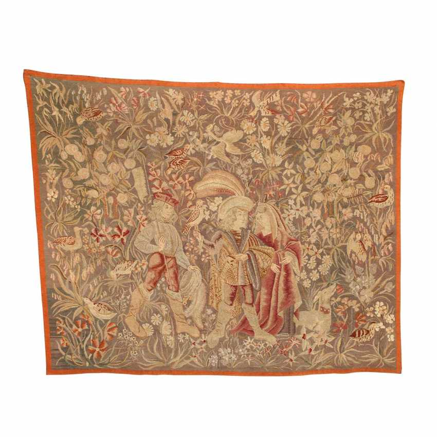 HUNTING TAPESTRY IN THE RENAISSANCE-STYLE - photo 1