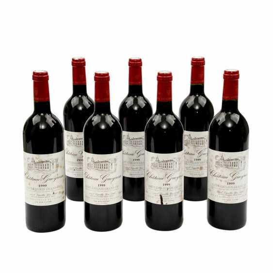 7 Flaschen VIGNOBLES YVES DELOL CHATEAU GUEYROSSE Saint-Émilion Grand Cru 1999 - photo 1