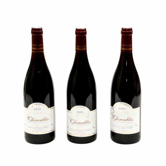 3 Flaschen CHIROUBLES, Domaine de la Rocassiere 2000 - photo 1