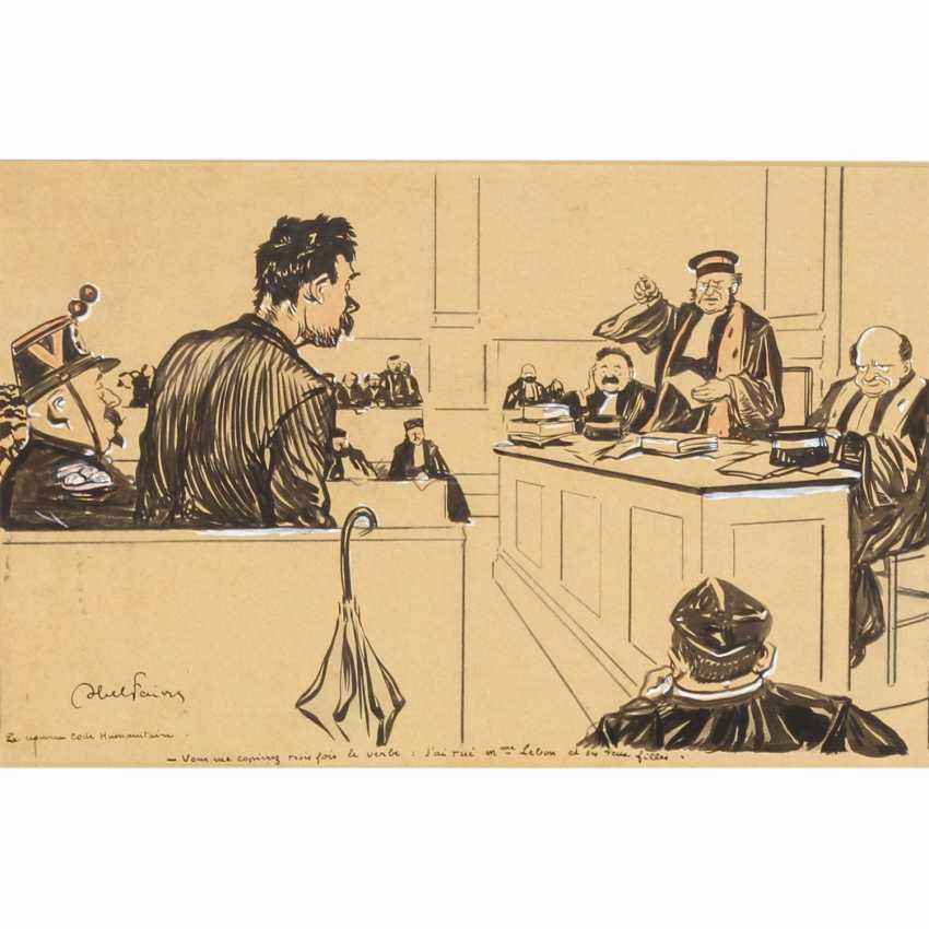 "FAIVRE, ABEL JULES (Lyon 1867-1945 Nizza), ""The new Code""Humanitarian"" - photo 1"