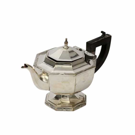 Probably ENGLAND teapot, silver plated, 20. Century - photo 1