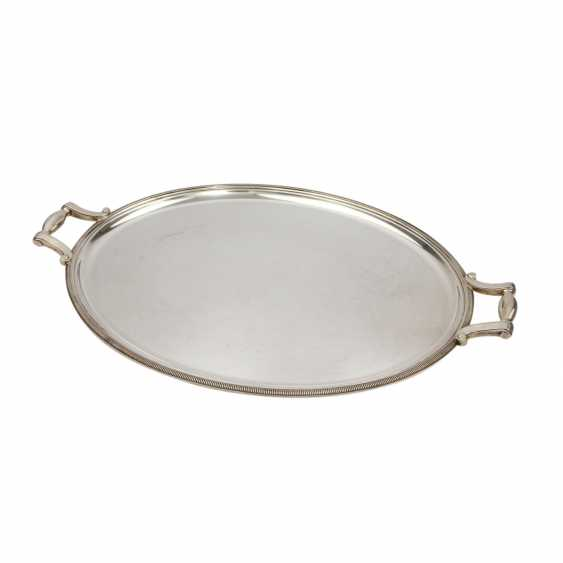 CHRISTOFLE tray with handles, 20. Century - photo 1