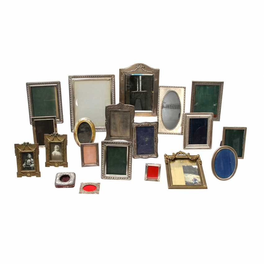 Mixed lot of 20 PCs. Picture frame, 20. Century - photo 1