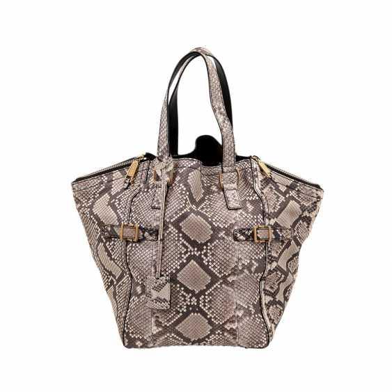 """YVES SAINT LAURENT handle bag """"DOWNTOWN PYTHON"""", Koll. 2008. - photo 1"""