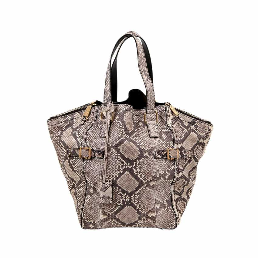 d83aba95666 Lot 537. YVES SAINT LAURENT handle bag
