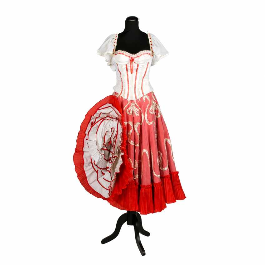 LES DORISS GIRLS Канкан платье, 1960-х-1970-х годов - фото 1