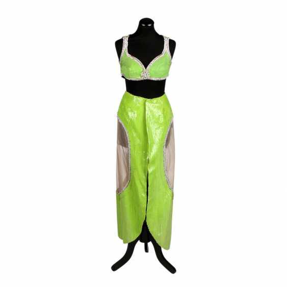 LES DORISS GIRLS sequin 2-piece, 1960s-1970s. - photo 1