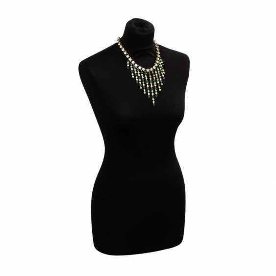 LES DORISS GIRLS fashion jewelry necklace, 20. Century - photo 1