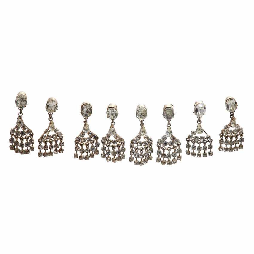 LES DORISS GIRLS vintage earrings, 20. Century - photo 1