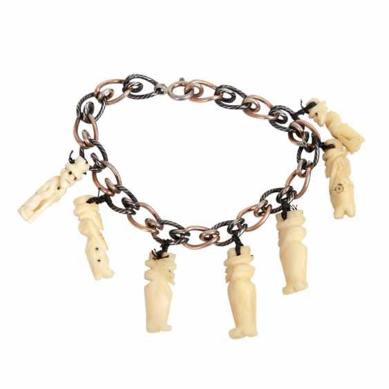 MOROCCO/LEBANON REVUE link bracelet, 1960s - photo 1